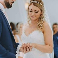 Bride with beautiful make up
