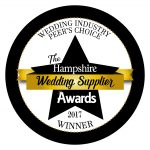 Hampshire Wedding Supplier Award Winner